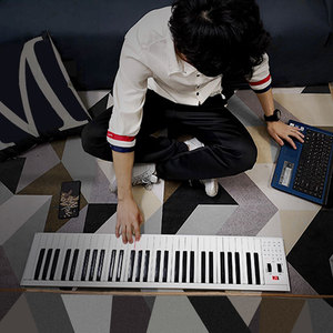 Za-o портативный 61 /88 ключ многофункциональная midi bluetooth countrol электронная пианино цифровая клавиатура музыкальный инструмент