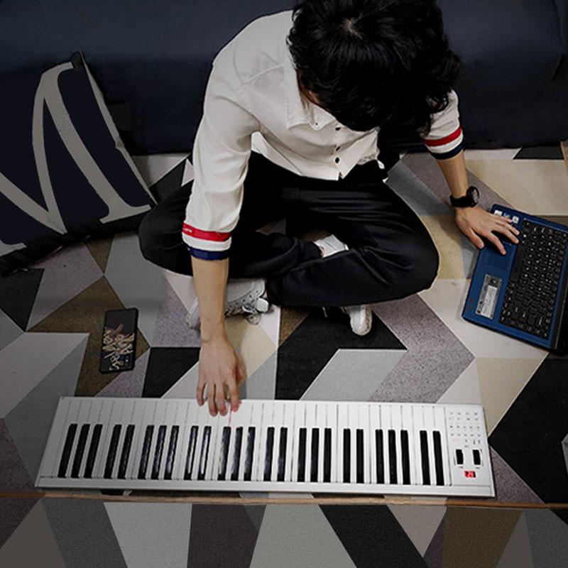za-o portable 61 /88 key multi-funcation midi bluetooth countrol electronic piano digital keyboard musical instrument