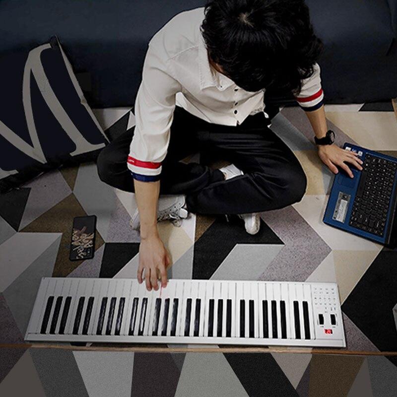 Za-o портативный 61 /88 клавиш Многофункциональный midi bluetooth countrol электронное пианино цифровая клавиатура музыкальный инструмент
