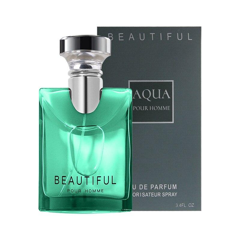 LANBENA 100ML Perfume For Men Long Lasting Fragrance Woody Notes Spray Glass Bottle Male Parfum Original Gentleman Atomizer 3