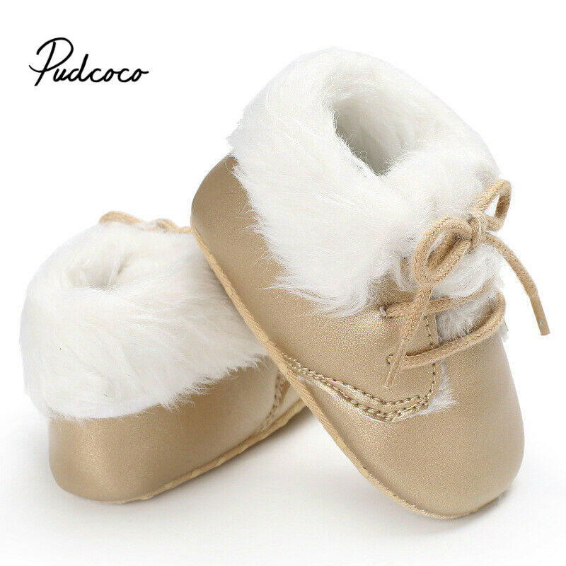 Baby Girls Boys First Walkers Baby Moccasins Soft Soled Non-slip Footwear Toddler Infant Crib Shoes PU Suede Leather Shoes