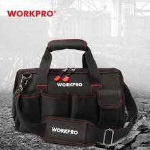 Bag Tools Shoulder-Bag-Tool-Kits Crossbody-Bag Multi-Bag WORKPRO Electrician Polyester