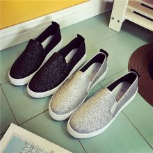 Women Shoes, Fashion Comfortable Sneakers, Women Flat Sneakers, Breathable Canvas Casual Sneakers, glitter sneakers flats woman sneakers parodi sunshine sneakers
