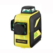 F93T-XR/F93T-XG 12 линий 3D литиевая батарея красный/зеленый лазерный уровень+ приемник+ Магнитный кронштейн+ 3M штатив