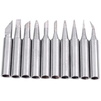 10 Tip Set Tips Soldering Tip Set for Soldering Iron 900-T-I/ BK/ 1.6D/ 2.4D/ 3.0D/ 2C/ 3C/ 4C NEW new 10 tip set tips soldering tip set for soldering iron 900 t i bk 1 6d 2 4d 3 0d 2c 3c 4c new