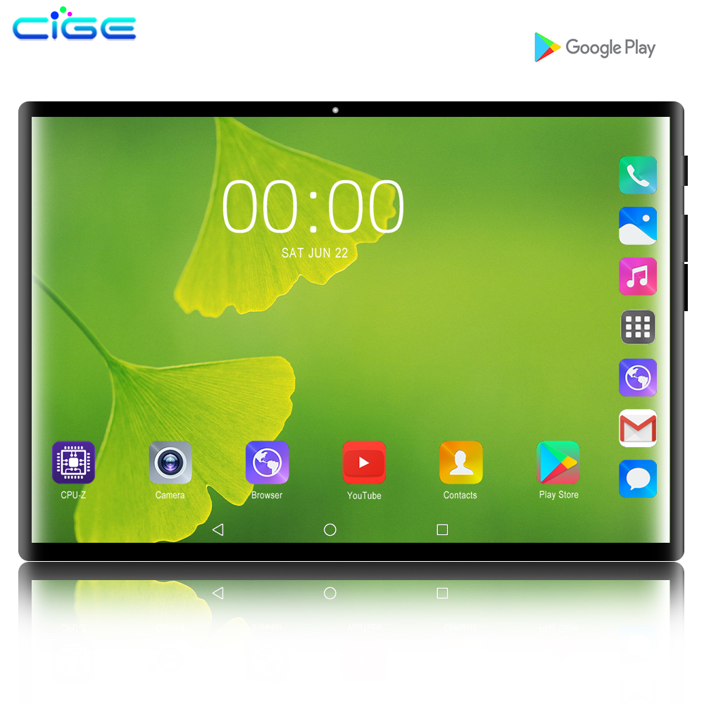 2019 nouveau 10.1 pouces tablette PC Octa Core Android 9.0 WiFi double cartes SIM 4G LTE tablettes 10.1 6GB RAM 128G carte mémoire cadeau 10 8 9