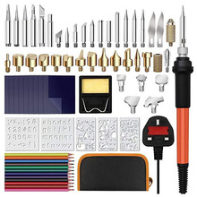 72 Sets of Electric Iron Engraving Tools for Temperature Control Engraving 110V Sets of Iron Engraving Tools