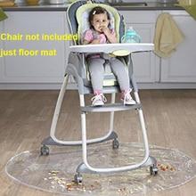 ПВХ моющиеся детские стульчики Круглый анти-грязный пол протектор Splat коврик подушка Дети Кормление игровой коврик