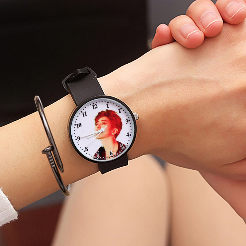 For Student Star Watch For Children's Wrist Watch Safety Silicone Clock Baby Kids Hour Fashion Young Boy Girl XX3116 Cartoon