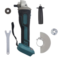 125mm 18V Brushless Wireless Impact Angle Grinder Head Tools Kit without Battery DIY woodworking tools