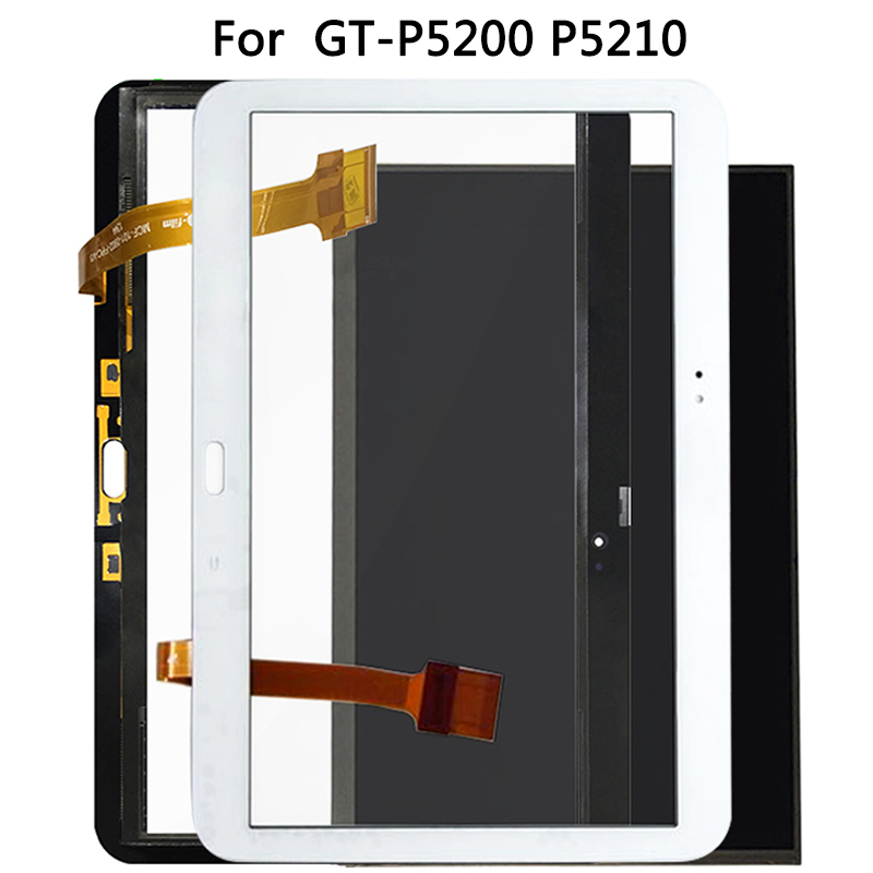 For Samsung Galaxy Tab 3 10.1 GT-P5200 P5210 LCD Display Touch Sensor Glass Digitizer Panel For New P5200 Touch Screen
