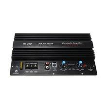 12V 1000W Car Stereo Audio Power Bass Full Range Speaker Subwoofers Amp Amplifier (Black)