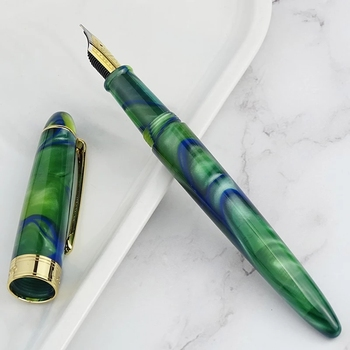 Lorelei Resin Forest Fountain Pen Ink Pen Converter Pen Fine Nib School Student Office Stationery fountain pen medium nib 0 5mm business supplies for school student plum blossom fountain pen stationery