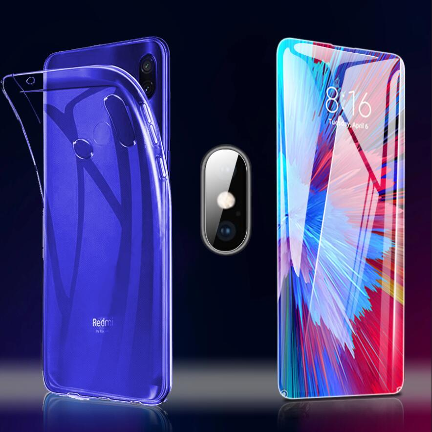 Tempered Glass For Xiaomi Redmi 7A Note 7 Pro Camera Screen Protector Clear Case Safety Redmi Note 7 Glass For Redmi 7 7A Glass