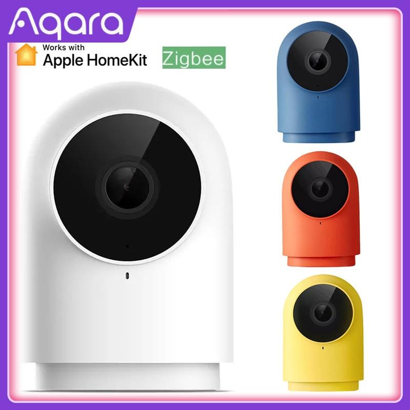 Newest Aqara G2h Camera 1080p Hd Night Vision Mobile For Apple Homekit App Monitoring G2 H Zigbee Smart Home Security Camera