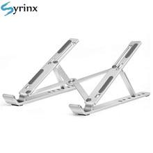 Soporte plegable de Metal para portátil, ajustable, de aluminio, para Macbook Pro, Air, ordenador, tableta, Base de escritorio