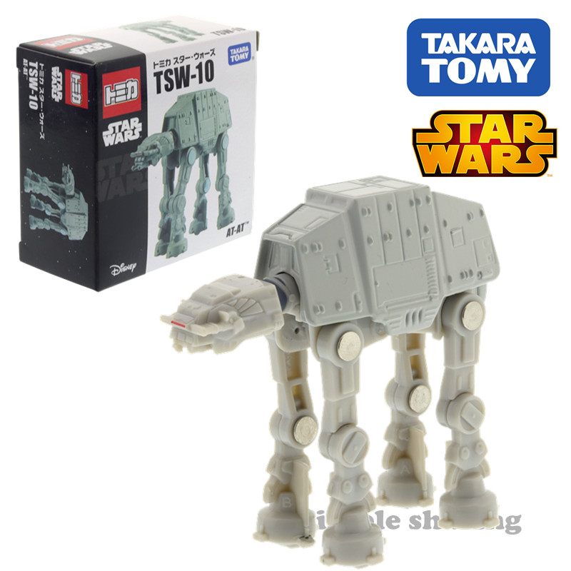Takara Tomy Tomica TSW-10 Disney Star Wars At-at Machine DieCast Hot Metal Toy Model Funny Kids Doll Collection