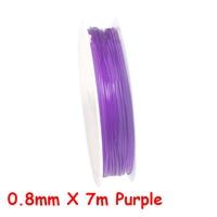 0.8mm X 7m Purple