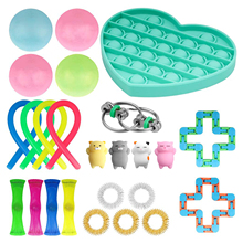 Bubble Toy Fidget Children Toys-Set Hand-Toys Relief Squeeze Stress-Anxiety Sensory-Pop