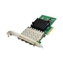 PCIe X4 to Quad port Gigabit Ethernet Server NIC network card 1000M PCIe SFP fiber network card I350AM4 Chipset 4 port lan pci-e cheap JEYI PCI Express