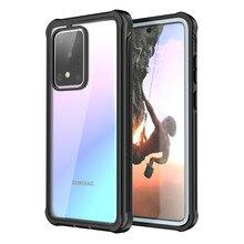 360 Броня защитный чехол для телефона для Samsung Galaxy S20 FE S20 очень S10 Примечание 10 плюс 5G чехлы водонепроницаемый противоударный чехол-накладка
