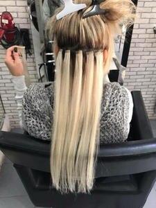 MRSHAIR Hair-Machine Adhesives Skin-Weft-Blonde Human-Hair-Extensions Tape-In Brown Remy