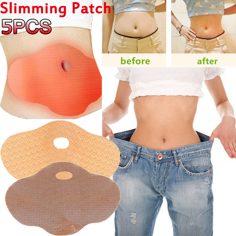 5/10Pcs Sleep Lose Weight Slimming Patch Anti-Obesity Belly Slimming Patch Loss Fat Navel Stick Burning Fat Abdomen Treatment