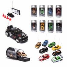 Горячая 8 цветов Кокс Мини RC автомобиль радио дистанционное управление микро гоночный автомобиль 4 частоты для детей Подарки