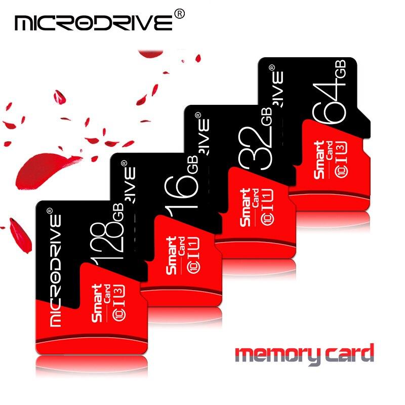 Карта Micro SD карты памяти 128 Гб 64 ГБ 32 ГБ оперативной памяти, 16 Гб встроенной памяти Class 10 флэш-памяти Microsd карта 16 64 Гб/32 128 ГБ для смартфонов, бес...