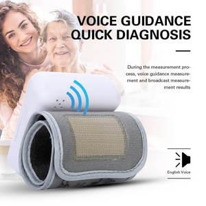 Image 4 - OLIECO Handgelenk Blutdruck Monitor USB Aufladbare Digitalen Blutdruckmessgerät Englisch Stimme 3 Hintergrundbeleuchtung Erinnern 2 Benutzer Speicher