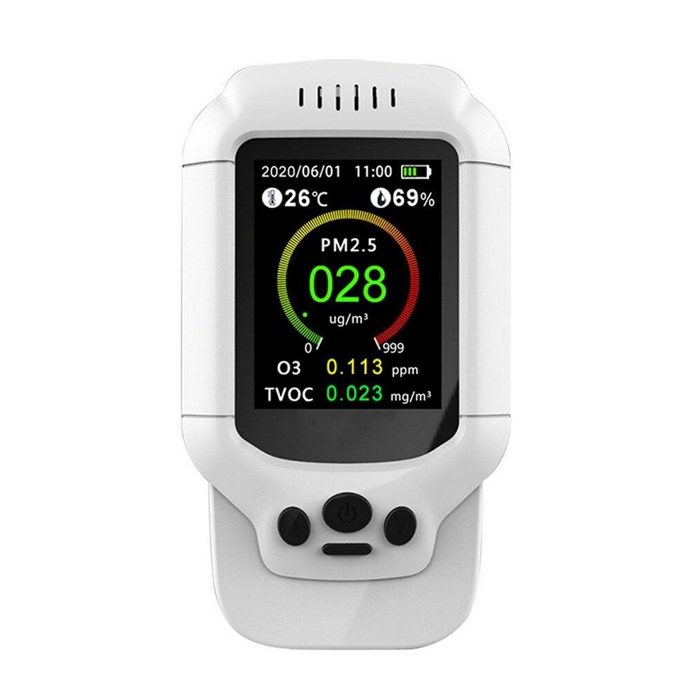 Monitor multifuncional Pm2.5 de calidad del aire, Detección del aire, Detector de ozono, analizador, Sensor de control de la contaminación en interiores