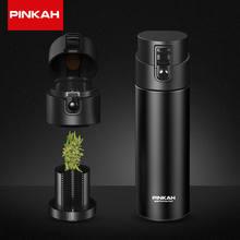 PINKAH – bouteille Thermos de 530ml, avec filtre à thé, scellée sous vide, en acier inoxydable, pour le lait, grande capacité, isolée, pour voyage