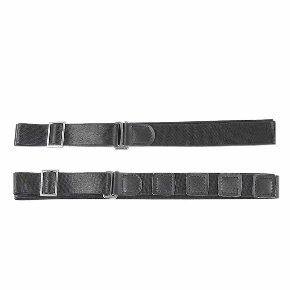 זכר כתפיות עור סגסוגת 4 קליפים Braces זכר בציר Suspensorio מכנסיים רצועת Braces 5*120 cm אלסטי מכנסיים רצועות מתנה