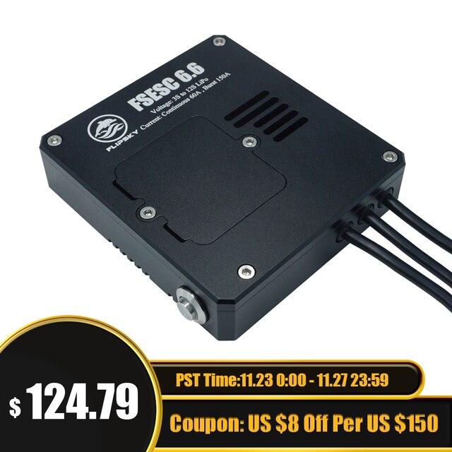 Flpskyブラシレスモーターウォーターポンプクールesc電気サーフボード電子速度コントローラベースにvesc 6 60a 60v 12s