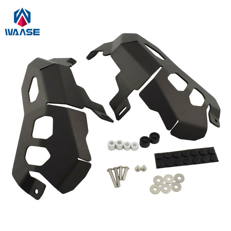 waase For BMW R1200R R1200RS R1200RT 2014 2015 2016 2017-2020 Left & Right Side Engine Cylinder Head Valve Cover Guard Protector