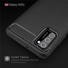 Para capa samsung galaxy a02s caso para samsung a02s tpu armadura pára-choques telefone capa para samsung m31 m21 a11 a71 a51 a31 a02s fundas
