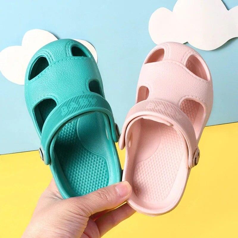 Baby sandals Non-slip cartoon garden shoes kids slippers for girls EVA sandalias bebe summer boy sandal шлепанцы детские