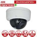 Hikvision DS 2CD2185FWD I 8MP réseau mini dôme sécurité caméra de vidéosurveillance POE carte SD 30m IR H.265 + caméra IP
