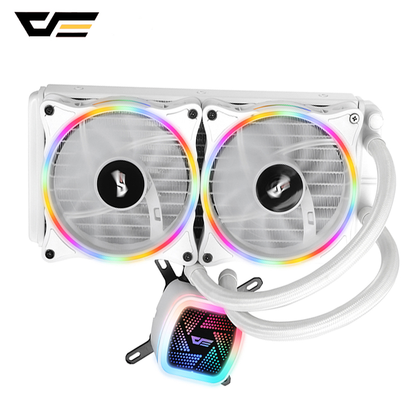 darkFlash <font><b>CPU</b></font> Cooler Computer <font><b>Fan</b></font> PWM 120mm Radiator AMD Intel LGA/1151/<font><b>775</b></font>/AM3 Water Cooler AM4 Silent <font><b>CPU</b></font> Water Cooling image