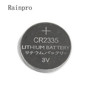 Image 1 - 5 pçs/lote 23 3 CR2335 2335 V botão bateria de lítio de 320mah * 3.5MM