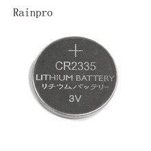 5 stks/partij CR2335 2335 3V button lithium batterij 320mah 23*3.5MM