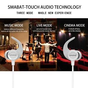 Image 2 - At20 sem fio fones de ouvido, in ear esportes bluetooth fones de ouvido, toque mudança subwoofer e agudos eq efeitos sonoros, telefone móvel usb c