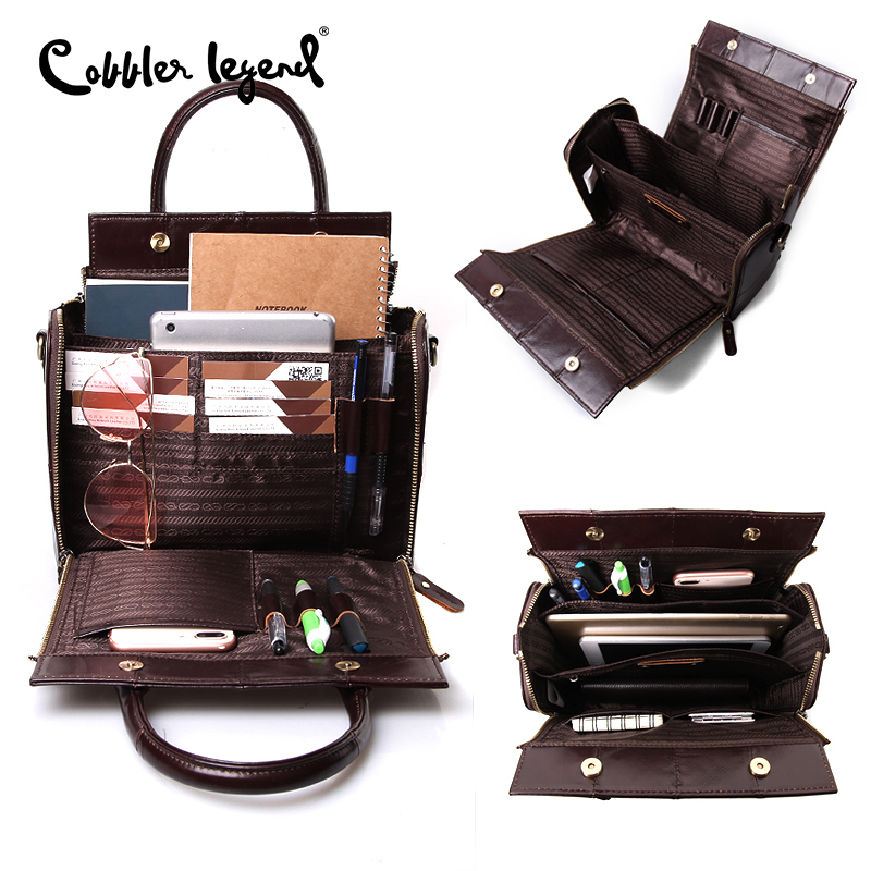 Cobbler Legend Top Handle Bags Genuine Leather Handbag Summer Fashion Shoulder for Women 2020 Vintage Designer Brand Crossbody Women Women's Bags cb5feb1b7314637725a2e7: Black|Coffee|Coffee|PU Brown|PU Brown|black|Green|Pink