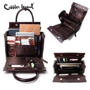 Image 4 - Cobbler Legendกระเป๋าหนังแท้กระเป๋าถือกระเป๋าสะพายแฟชั่นฤดูร้อนสำหรับผู้หญิง2020 Vintage Designerยี่ห้อCrossbody