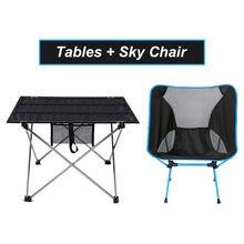 Outdoor Faltbare Tisch Tragbare Camping Möbel Ultraleicht Aluminium Computer Bett Tische Klettern Wandern Picknick Klappstuhl