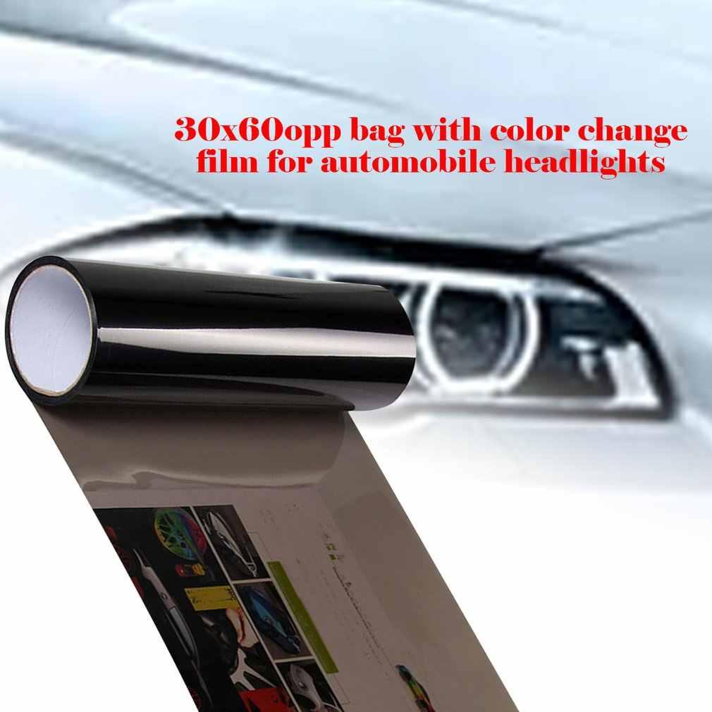 ไฟหน้ารถไฟท้ายไวนิลที่ไม่ซ้ำกันสติกเกอร์ฟิล์มไฟหน้ารถเปลี่ยนสีฟิล์มไฟท้ายหมอกสติกเกอร์