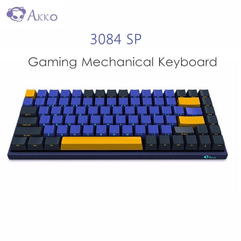 AKKO 3084 SP Horizon Horizon jeu clavier mécanique cerise MX commutateur 84 clé 85% PBT filaire USB type-c clavier pour ordinateur