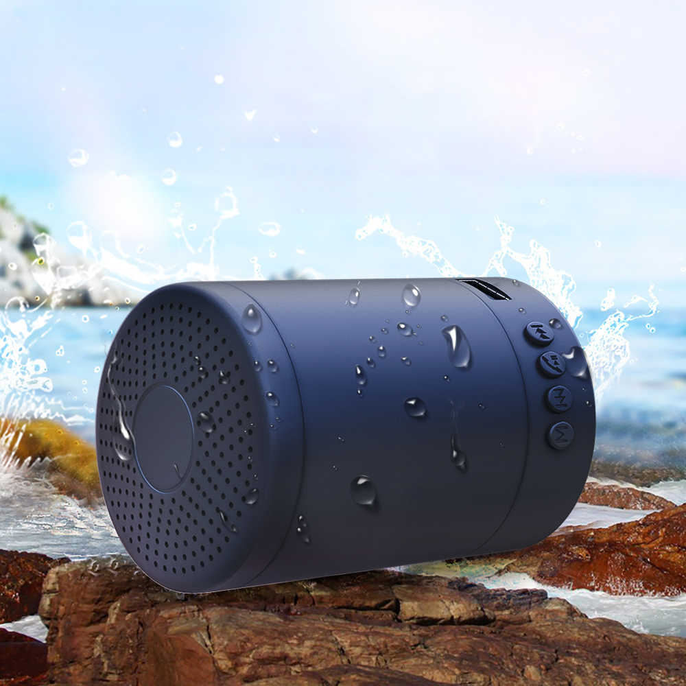 Portable Speaker Macaron Bluetooth Speaker Stereo Nirkabel Loudspeaker Mini Kolom Musik Bass 5W Outdoor Speaker Tahan Air