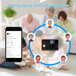 Image 3 - Tuya 433MHz Wifi 3G 4G Home Burglar Security Alarm System,Apps Control Wireless Alarm Host Kit With Ptz IP Camera Baby Monitor