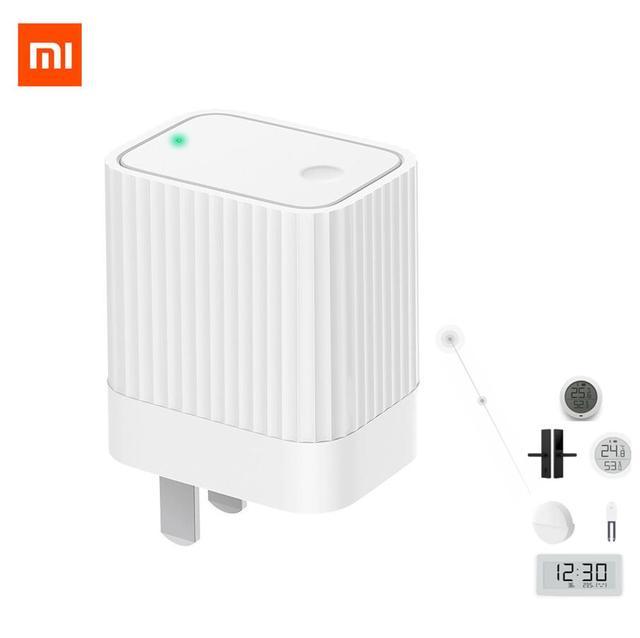 Xiaomi MIJIA ClearGrass บลูทูธ WIFI GATEWAY สมาร์ทเข้ากันได้กับ Mijia APP Mijia ประตูล็อค Mijia บลูทูธ TEMP